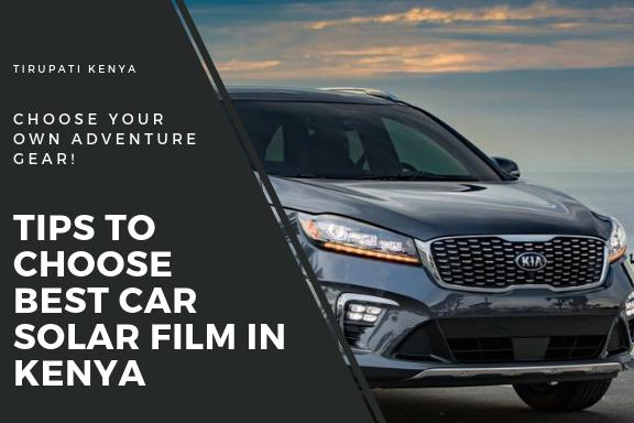 Llumar Car Window Films Kenya - A Complete Guide